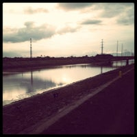 Photo taken at Jaro Floodway by Clint L. on 3/28/2012