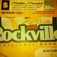 Photo taken at Rockville Traditional Burger by Felipe C. on 6/10/2012