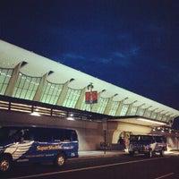 Photo taken at Washington Dulles International Airport (IAD) by Loren S. on 9/4/2012