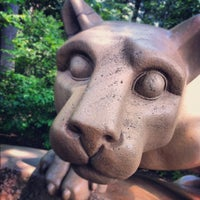 Photo taken at Nittany Lion Shrine by Vince L. on 6/16/2012