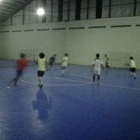 Photo taken at Gerlong Futsal (n) by Fadlan Alfath A. on 3/7/2012