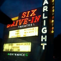 Photo taken at Starlight Six Drive-In by Traci on 7/7/2012