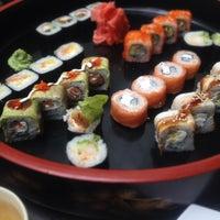 Photo taken at Планета суши by Emi A. on 4/14/2012
