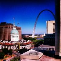 Photo taken at Hilton St. Louis at the Ballpark by Cynthia K. on 9/10/2012
