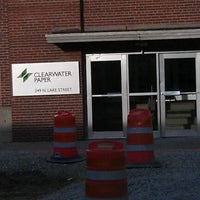 Photo taken at Clearwater Paper by Ellen M. on 4/27/2012