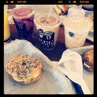 Photo taken at Einstein Bros Bagels by Abby A. on 7/15/2012