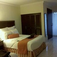 Photo taken at Hotel Bonampak by Carlos T. on 4/27/2012