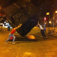 Photo taken at Astor Place by Gevorck M. on 8/24/2012