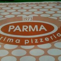 Photo taken at Pizzeria Parma by Deja M. on 3/15/2012