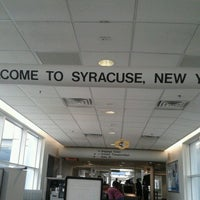 Photo taken at Syracuse Hancock International Airport (SYR) by Izabella B. on 8/18/2012