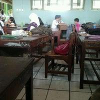 Photo taken at Smpn 3 tangerang by Nanda Aulia R. on 5/29/2012