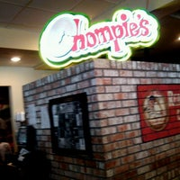 Photo taken at Chompie's Deli by Mike G. on 7/15/2012