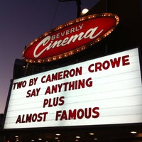 Photo taken at New Beverly Cinema by Kevin S. on 3/20/2012