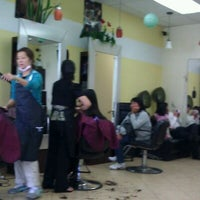 Photo taken at Tien An Salon by Christopher N. on 4/2/2012