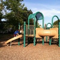 Photo taken at Highland Playground by Nichole K. on 8/22/2012