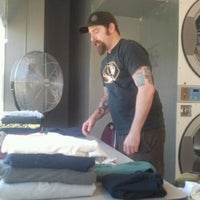 Photo taken at 39th St Laundromat by RIEJEL B. on 5/10/2012