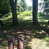 Photo taken at Wolfe's Pond Park by Allie S. on 7/6/2012