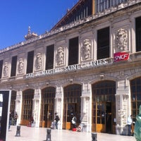 Photo taken at Gare SNCF de Marseille Saint-Charles by Isabelle S. on 4/20/2012