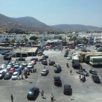 Photo taken at Port of Paros by Antonios Z. on 8/3/2012