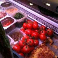 Photo taken at Pizza Dach by Katja S. on 8/3/2012
