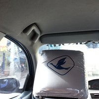 Photo taken at Blue Bird Taxi by Rinto M. on 4/10/2012
