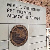 Photo taken at Mike O'Callaghan-Pat Tillman Memorial Bridge by Cocöy a. on 7/7/2012