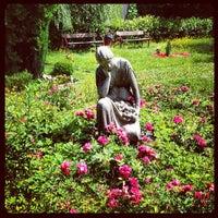 Photo taken at Georgen-Parochial Friedhof II by Donald B. on 7/9/2012