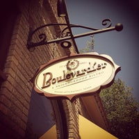 Photo taken at Boulevardier by Robbie G. on 7/28/2012