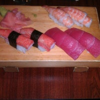 Photo taken at Aloha Sushi by Devante S. on 6/15/2012