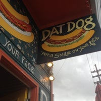 Photo taken at Dat Dog by Faby P. on 3/20/2012