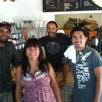 Photo taken at Baja Beans Roasting Company by Enrique M. on 4/24/2012