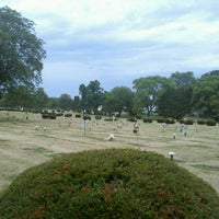 Photo taken at Greenview Memorial Cemetery by Christopher D. on 8/8/2012