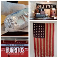 Photo taken at Bell Street Burritos by Michael J. on 5/5/2012