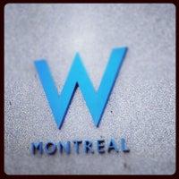 Photo taken at W Montréal by Iman S. on 3/29/2012