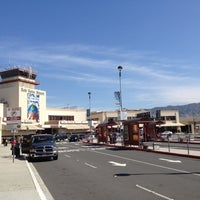 Photo taken at Bob Hope Airport (BUR) by Aaron G. on 4/24/2012