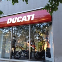 Photo taken at Ducati Triumph New York by Quasi M. on 4/19/2012