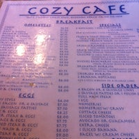 Photo taken at Cozy Cafe by Ryan S. on 2/26/2012