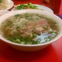 Photo taken at Pho VN One by Duy N. on 3/3/2012