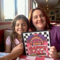 Photo taken at Happy Days Diner by Chris D. on 4/1/2012