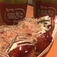 Photo taken at Gindaco (กินดาโกะ) 銀だこ by Ben T. on 7/5/2012