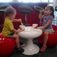 Photo taken at CherryBerry Yogurt Bar by Matt P. on 7/13/2012