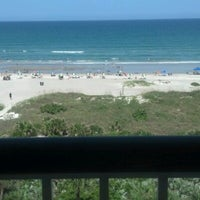 Photo taken at Resort on Cocoa Beach by Christy M. on 7/6/2012