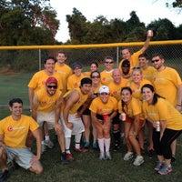 Photo taken at Krieg Field Softball Complex by Jennifer M. on 5/18/2012