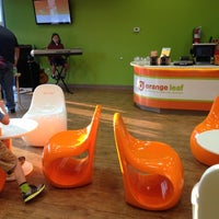 Photo taken at Orange Leaf Frozen Yogurt by marty j. on 7/13/2012