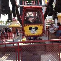 Photo taken at Mickey's Fun Wheel by Lynne L. on 4/27/2012