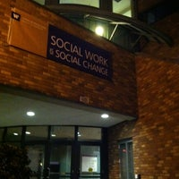 Photo taken at UW: School of Social Work by Maggie M. on 4/10/2012