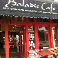 Photo taken at Baladie Gourmet Cafe by Bob Q. on 7/26/2012