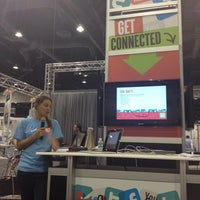 Photo taken at ICSC RECon #iTechLounge by Larry K. on 5/21/2012