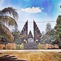 Photo taken at Pura Agung Tamansari Halim Perdana Kusuma by 2m0 . on 2/4/2012
