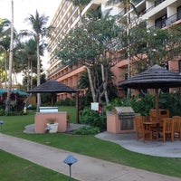 Photo taken at Marriott's Maui Ocean Club  - Lahaina & Napili Towers by Justin F. on 2/15/2012
